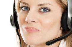 Smart customer service representative Stock Photos