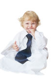 Smart cute baby boy Royalty Free Stock Photography