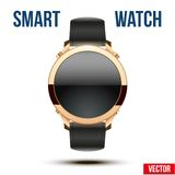 Smart design example wrist watch. Royalty Free Stock Image