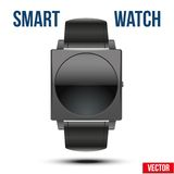 Smart design example wrist watch. Royalty Free Stock Photos