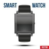 Smart design example wrist watch. Royalty Free Stock Photo