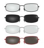 Smart Designer Glasses Spectacle Frame Illustration Royalty Free Stock Photography