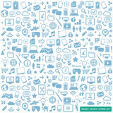 Smart devices icons set Stock Photography