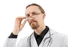 Smart doktor Arkivfoton