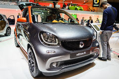 Smart edition #1, Motor Show Geneva 2015. Stock Photo