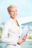 Smart employee Stock Photography