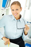 Smart employer Royalty Free Stock Photos