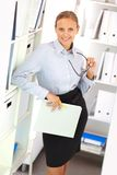 Smart employer Stock Images