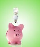 smart energi Royaltyfria Bilder
