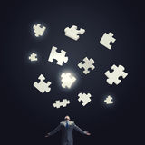 Smart enough to solve problem Stock Images