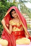 Smart ethnic style Royalty Free Stock Image