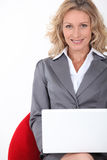 Smart executive woman Stock Images