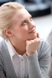 Smart female Royalty Free Stock Photography