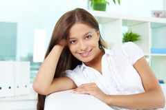 Smart female Royalty Free Stock Images