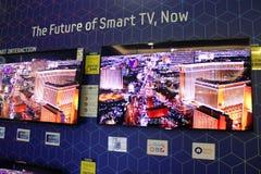 Smart Fernsehapparat Lizenzfreie Stockbilder
