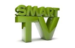 Smart Fernsehapparat Stockbild