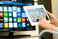Smart Fernsehapparat Lizenzfreies Stockfoto