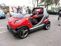 Smart Fireblade. Goodwood Soft Top Sunday 2014 Royalty Free Stock Photo