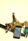 Smart fishing Stock Photography