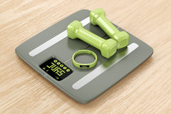 Smart fitness devices Royalty Free Stock Photography