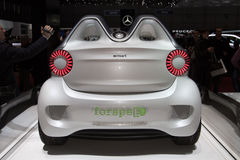 Smart Forspeed Concept - Geneva Motor Show 2011 Stock Image