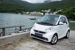 Smart fortwo coupe pluse 2012 Stock Photography