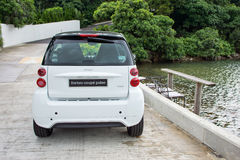 Smart fortwo coupe pluse 2012 Royalty Free Stock Photography