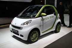 SMART Fortwo electric drive Stock Photos