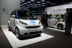 SMART Fortwo electric drive Stock Photo
