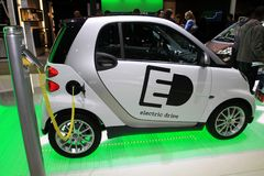 The Smart ForTwo EV Royalty Free Stock Photography