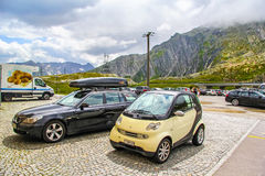 Smart Fortwo Royalty Free Stock Photo