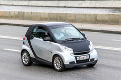 Smart Fortwo. MOSCOW, RUSSIA - JUNE 2, 2013: Motor car Smart Fortwo at the city street Royalty Free Stock Images