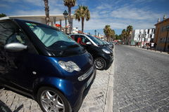 Smart Fortwo in Smart Times 2014 Royalty Free Stock Image