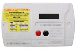 Smart Gas Meter Royalty Free Stock Photos