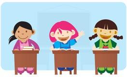 Smart Girl stock image