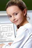 Smart girl Stock Photos