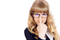 Smart girl Stock Images