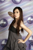 Smart girl fashion Royalty Free Stock Images