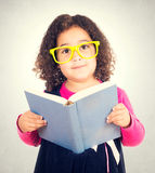 Smart girl Stock Image