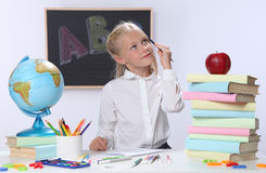 Smart girl Stock Photography