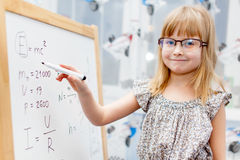 Smart girl Royalty Free Stock Photo