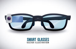 Smart glasses Royalty Free Stock Images