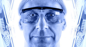 Smart glasses. Royalty Free Stock Photography