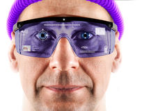 Smart glasses. Royalty Free Stock Photos