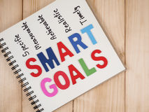 Smart Goal 32 Royalty Free Stock Photography