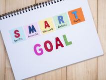 Smart Goal 36 Royalty Free Stock Images
