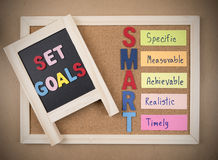 Smart Goal 13 Royalty Free Stock Photo