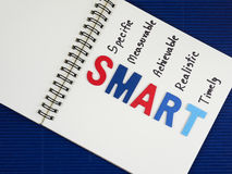 SMART Goals 26 Royalty Free Stock Photo
