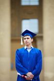 Smart graduate Royalty Free Stock Images