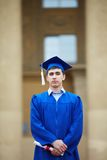 Smart graduate Royalty Free Stock Photos